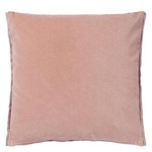 Designer's Guild Blush Velvet Pillow Varese Cameo